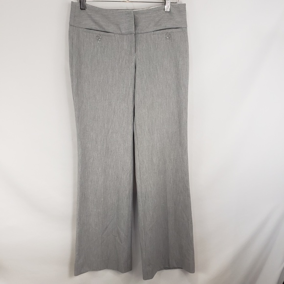 Express Pants - Express Editor Gray Trousers